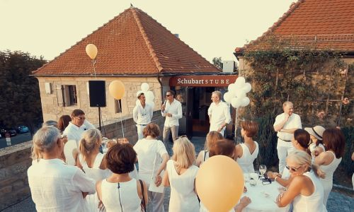 Celebration in the Schubart Stube in Hohenasperg