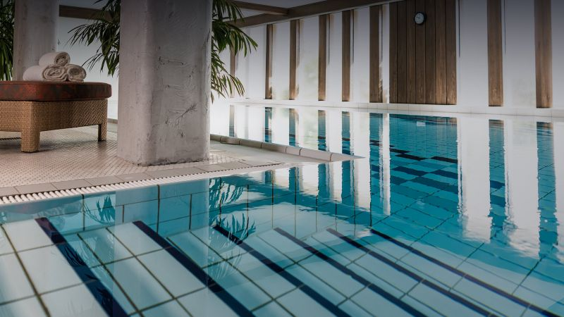 Indoor swimming pool at Hotel Ludwigsburg | Hotel bei Ludwigsburg